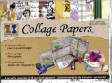 Vintage Toile Ephemera Collage Papers (SKU: FYRWESPR03)