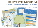 Happy Family Memory Kit (SKU: FYRAD33185)
