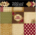 Bella! Boutique Family 12 x 12  Paper Pack (SKU: FYRNO-Ruby-BAS54)