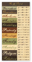 For The Record Collection - Genealogy Words Accessories Sheet (SKU: FYR-TPL-FTR203)
