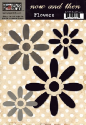 Now & Then Collection - Brown Flowers (SKU: FYR-TPL-NT213)