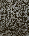 "Black with Silver Brocade - 8 1/2"" x 11"" (SKU: FYRCB01)"