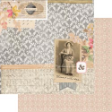 7 Gypsies - Trousseau Double-Sided Paper - Always (SKU: FYRNO-7G-T12-19436)