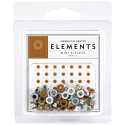 Eyelets - Elements Mini - Metallics (SKU: FYRNO-AC-85454)