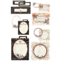 Basics - Journaling Cards with Transparencies (SKU: FYRNO-BG-BAS2594)