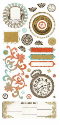 Basic Theme - Cardstock  Stickers - Heritage Elements (SKU: FYRNO-BG-THM-STK-3070)
