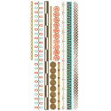 Basic Theme - Cardstock  Stickers - Heritage Trims (SKU: FYRNO-BG-THM-STK-3112)