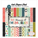 "Moments & Memories - Paper Pad - 6""x 6"" (SKU: FYRNO-CB-MM6x6PAD)"