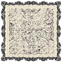Narratives Antique Cream Collection - Floral Scalloped (SKU: FYRNO-CI-15858)