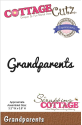 Expressions Die - Grandparents (SKU: FYRNO-CottCutz-CCX017)