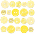 Buttons - Boutique Buttons - Bumblebee Assortment (SKU: FYRNO-DB-BTQB-2474)