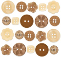 Buttons - Boutique Buttons - Bon Bon Assortment (SKU: FYRNO-DB-BTQB-2480)
