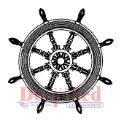 Deep Red - Cling Stamps - Ships Wheel (SKU: FYRNO-DR-3X405202)