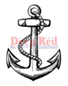 Deep Red - Cling Stamps - Anchor (SKU: FYRNO-DR-3X405211)