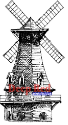 Deep Red - Cling Stamps - Windmill (SKU: FYRNO-DR-3X500094)