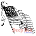 Deep Red - Cling Stamps - Old Glory (SKU: FYRNO-DR-4X504352)