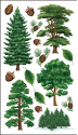 Sticko Classic Stickers - Majestic Trees (SKU: FYRNO-EK-E5200792)