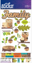 Sticko Stickers  - Flip Pack - Family (SKU: FYRNO-EK-E5260122)