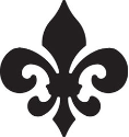 EK Success - Paper Shapers - Medium Punch - Fleur De Lis