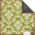 Chillingsworth Manor Collection - Green Damask (SKU: FYRNO-EP-CM12-37010)