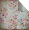 Fabscraps - Heritage - Floral/Blue