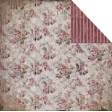 Fabscraps - Heritage - Small Floral/Aubergine (SKU: FYRNO-FAB-C38003A)