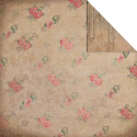 Fabscraps - Heritage - Roses - Corrugate & Pink (SKU: FYRNO-FAB-C38006A)