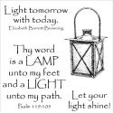 Inky Antics - Shining Lantern - Clear Stamps (SKU: FYRNO-IA-11073SC)