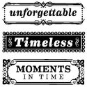 Timeless Phrases - Clear Mini Stamps (SKU: FYRNO-INK-ICMSAA-30469)