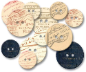 Chipboard Buttons - Photographer's Mark (SKU: FYRNO-JB-382)