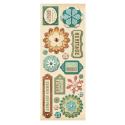 AC Flowers & Shapes Adhesive Chipboard - ancestry.com (SKU: FYRNO-KC-Ancestry-566361)