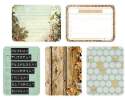 "Captured Moments - 3""X4""  Double-Sided Cards - Getaway (SKU: FYRNO-KA-CM103)"