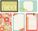 "Captured Moments - 4""X 6""  Double-Sided Cards - Favorite Things (SKU: FYRNO-KA-CM304)"