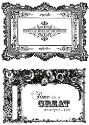 Miss Empire  - Kaisercraft - Frames - Clear Stamps (SKU: FYRNO-KA-CS105)