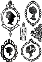 75 Cents Clear Stamps  - Kaisercraft - Clear Stamps