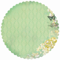 Pickled Pear - Lime - Die-Cut Paper (SKU: FYRNO-KA-PS245)