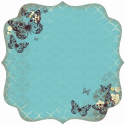 Botanical Odyssey - Spot Varnish Die-Cut Paper - Lattice (SKU: FYRNO-KA-PS254)