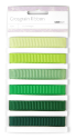 Grosgrain Monochromatic Ribbon - Forest