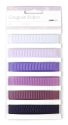 Grosgrain Monochromatic Ribbon - Grape