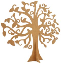 Duchess Collection - Beyond The Page MDF Large Family Tree (SKU: FYRNO-KA-SB2086)