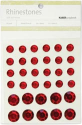 Rhinestones - Self Adhesive - Red