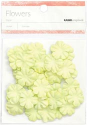 Paper Flowers - 2cm - Lime