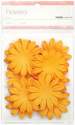 Paper Flowers - Orange - 5 cm