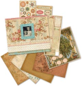 "Ancestry.com Scrapbook Album Kit 8.5""X8.5"" (SKU: FYRNO-KC-Ancestry-426095)"