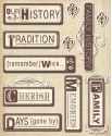 Heritage Words - Sticker Medley (SKU: FYRNO-KC-K586116)