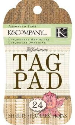 Julianne Vintage Tag Pad - Neutral - 24 Sheets