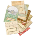 Life's Journey Adhesive CD Envelopes