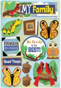 Kids' Ancestry - My Family - Cardstock Stickers (SKU: FYRNO-KF-11602)