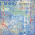 Family Traditions Collage - Family Reunion/Picnic Paper (SKU: FYRNO-KF-406323)