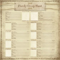 Ancestry 2 – My Family Group Sheet